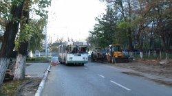 В районе поста ГАИ на выезде из города появится троллейбусная остановка