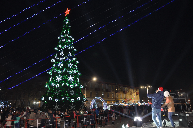 Новогодняя елка в Бендерах