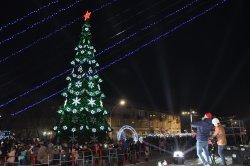 Торжественное открытие новогодней елки