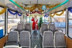 Режим работы общественного транспорта в период проведения новогодних и рождественских праздников