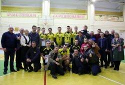 «Тигина» – лидер! Бендерские волейболисты заняли первое место в первом приднестровском чемпионате
