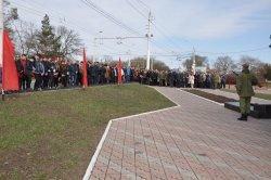 В Бендерах почтили память бойцов народного ополчения