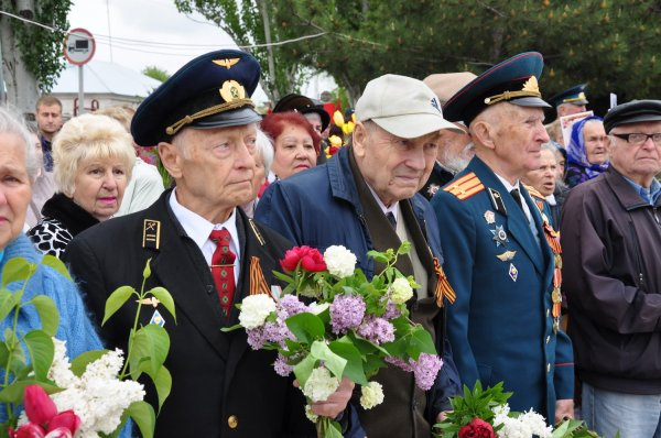 Бендеры отмечают День Победы