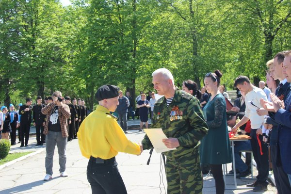 В Бендерах подвели итоги городского тура военно-спортивной игры «Юный патриот Приднестровья-2019»