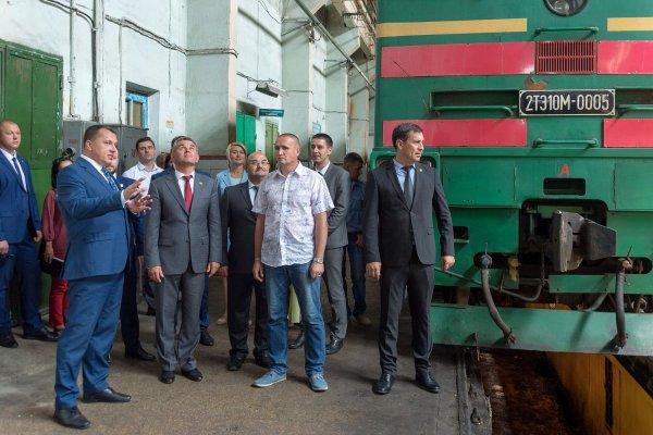 В Бендерах на территории локомотивного депо Приднестровской железной дороги открыт спортивный зал