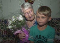 Ветерана ВОВ Тамару Хватову поздравили с 95-летним юбилеем