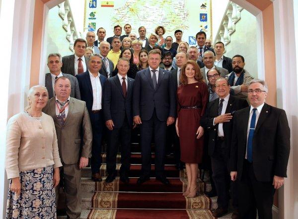 Делегация бендерской администрации побывала в Рязани