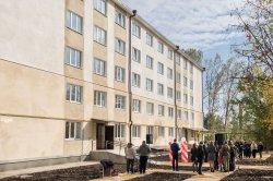 В Бендерах по президентской программе сдали дом на 39 квартир