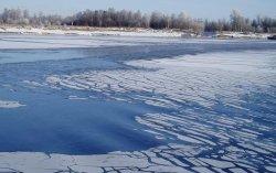 Опасный лед!