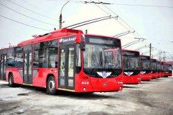 В Бендерах презентуют новые троллейбусы