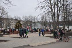 На Ленинском в минувшие выходные открыли обновленный парк Победы, детский комплекс и спортивную площадку