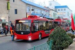 Бендерский парк пополнился новыми троллейбусами