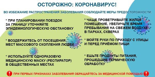 Городской оперативный штаб по профилактике и предотвращению распространения коронавируса сообщает