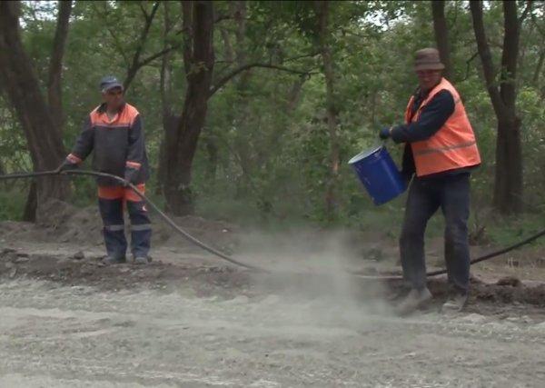 В Бендерах осваивают новые технологии ремонта дорог