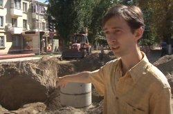Во время ремонта бендерского коллектора обнаружили старинную  канализацию