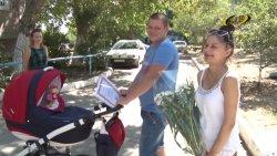 Малыши, рожденные 2 сентября,  получили подарки от Президента