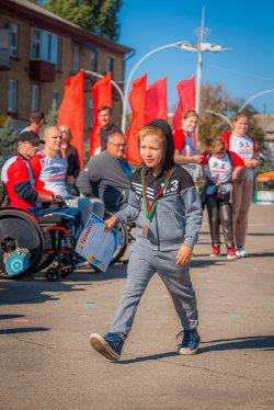Забег в рамках Международного марафона за ЗОЖ (фоторепортаж)