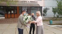 Рожденных в День города поздравили от имени главы госадминистрации