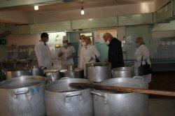 Роман Иванченко ознакомился  с работой пищеблока в горбольнице