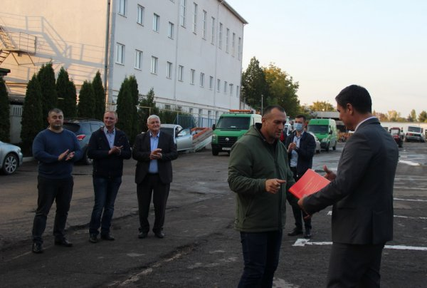 В Бендерах чествовали работников автомобильной и дорожной отраслей