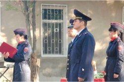 В преддверии Дня милиции в Управлении внутренних дел г. Бендеры состоялось торжественное мероприятие