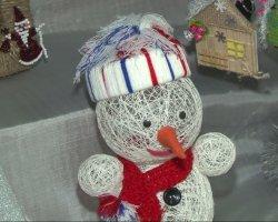 Выставка-продажа «Новогодняя фантазия» развернулась в центральной библиотеке