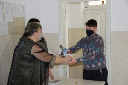 Детям вручили подарки и поздравления к Новому году и Рождеству от Президента ПМР и главы города