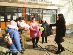 В Бендерах вручили подарки Президента родителям новорожденных