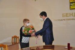 В день 70-летнего юбилея Орден Почета вручили Татьяне Осецимской