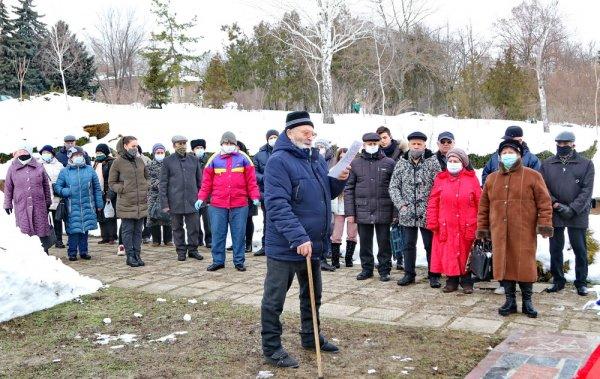 В Бендерах ко Дню памяти жертв Холокоста состоялось возложение цветов
