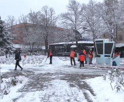 В Бендерах состоялся штаб по борьбе со снежной стихией