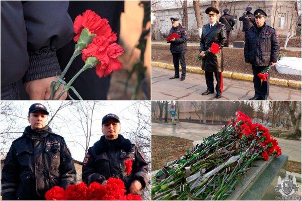 В Бендерах почтили память погибших правоохранителей
