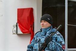 В Бендерах открыли мемориальную доску в память о старшем лейтенанте милиции Сергее Юрко