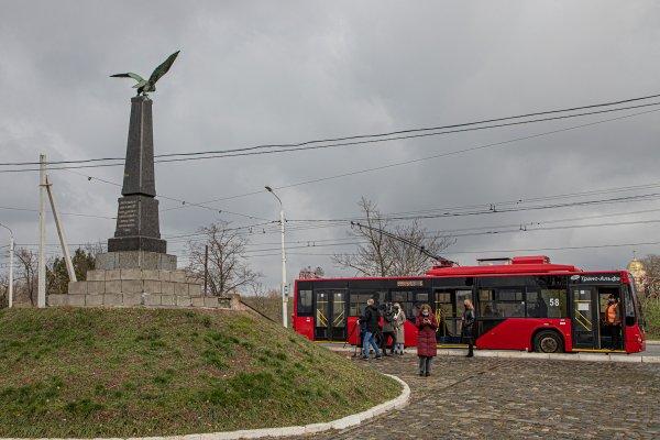 В Бендерах представили троллейбусную экскурсию по историческим местам города