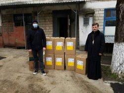 Священнослужители и прихожане бендерских храмов помогли COVID-госпиталю