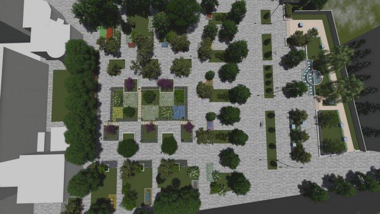 Благоустройство центральной части города Бендеры (подробности)
