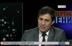 Глава Бендер в эфире ТСВ рассказал о дорожной проблеме в городе