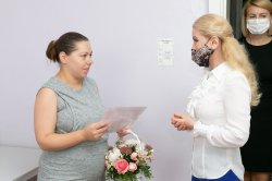 Супруга Президента поздравила новорожденных бендерчан и их мам