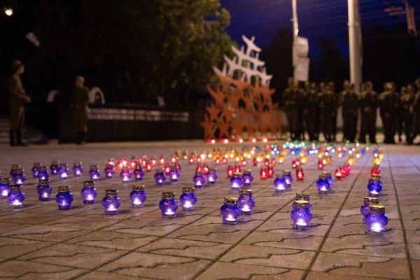 В Бендерах состоялась традиционная акция «Свеча памяти»