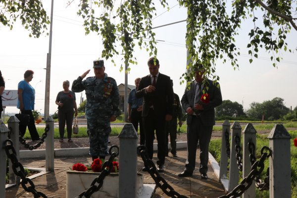 В Бендерах сегодня вспоминали зашитников, погибших в ночь с 22 на 23 июня в районе моста