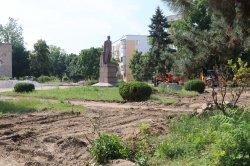 Реконструкция центральной части города в самом разгаре