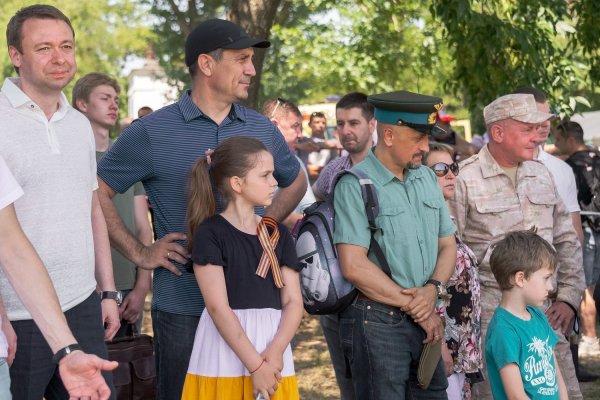 Глава Бендер посетил историческую реконструкцию в Тирасполе