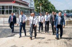 Вадим Красносельский проинспектировал стройплощадки в Бендерах (+видео)