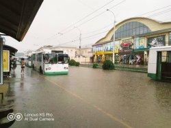 В Бендерах обсудили ситуацию с затоплением домов и дорог по причине обильных осадков и проблему стока ливневых вод (+видео)