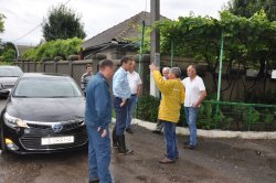 Глава Бендер провел выездное совещание на улице Дубоссарской (+ видео)