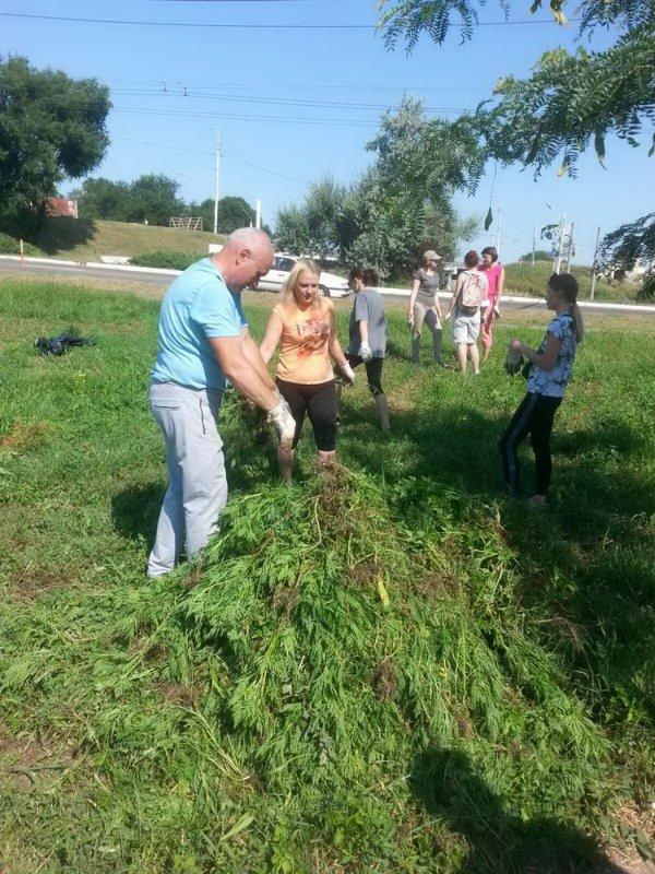 24 июля в Бендерах прошёл общегородской субботник (+видео)