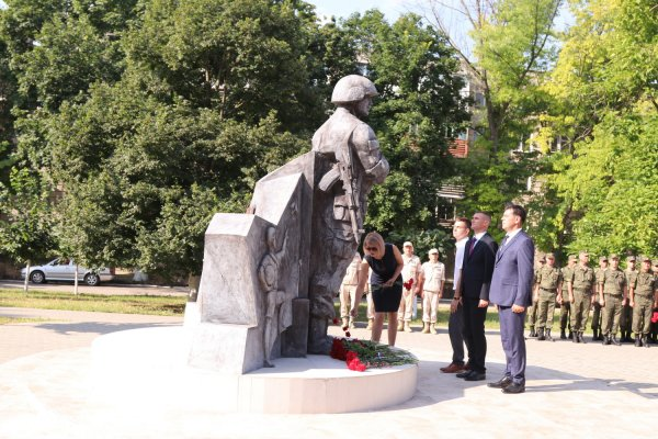 В Бендерах проходят мероприятия, приуроченные к 29 годовщине со дня ввода Миротворческих сил Российской Федерации в Приднестровье
