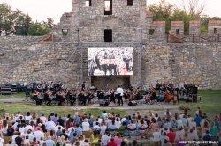 В Бендерской крепости прозвучала музыка из оскароносных фильмов (+ видеоотрывок из концерта Алексея Кругликова)