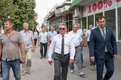 Вадим Красноселький провел выездное совещание на улицах Бендер