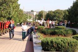 Бендеры отмечают 77-летие со дня освобождения города от немецко-румынских захватчиков